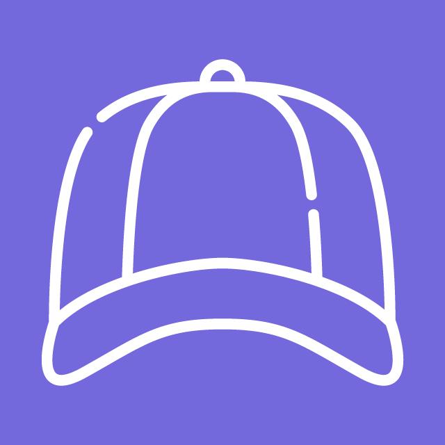 Purple Mucho Stylez Cap