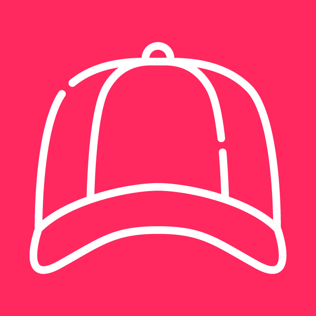 Red Mucho Stylez Cap